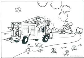 Idea Free Fire Truck Coloring Pages Printable Or Free Fire Truck
