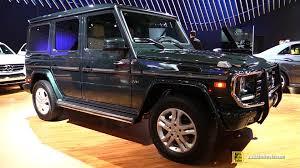 mercedes g wagon 2015 interior. Contemporary 2015 2015 MercedesBenz GClass G550  Exterior And Interior Walkaround 2014  LA Auto Show YouTube For Mercedes G Wagon