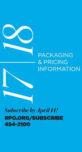 New Subscriber Pricing 2017 18 By Rochester Philharmonic