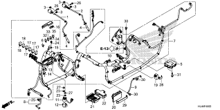2016 honda pioneer 1000 5 sxs1000m5p wire harness parts hm1215004073 gif