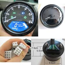 cobra motorcycle tachometer wiring diagram wiring library reddragonfly 199 km h 12000 rpm lcd digital speedometer tachometer odometer mph kmh