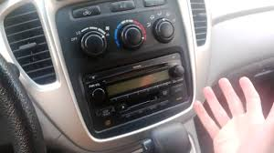 heating (or cold air) not working in 2005 Toyota Highlander - YouTube