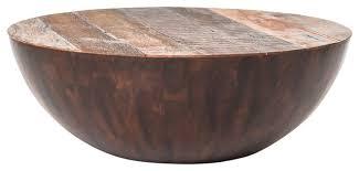 ryan reclaimed wood round coffee table 48