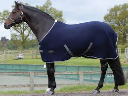 weatherbeeta thermic quilt navy cooler horse rug
