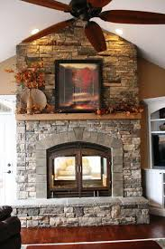 gas fireplace see through