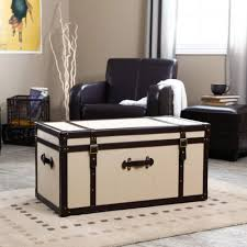 Trunk Style Coffee Table Modern Leather Ways To Style Trunk Style Coffee  Table In Living Room