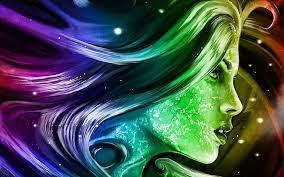 rainbow 3d fantasy abstract art