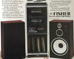 stereo system 1981 fisher 8500 stereo system print ad