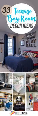 boy bedroom decor ideas. Fine Ideas 33 OnTrend Teenage Boy Room Decor Ideas From Sophisticated To Sporty For Bedroom E