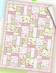 Essential Flannel Quilt Pattern (Free) Small pastel fabrics can be ... & like this pattern. Essential Flannel Baby Quilt - Free Pattern- this looks  so cute and easy. Wouldn't have to be a baby quilt. Adamdwight.com