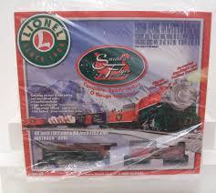 lionel santas flyer buy lionel 6 30164 santas flyer christmas set nib trainz auctions