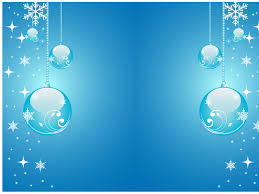 Powerpoint Backgrounds Blue Wallpaper For Powerpoint Blue Christmas Powerpoint
