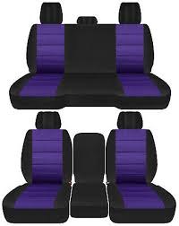 front back truck car seat covers black