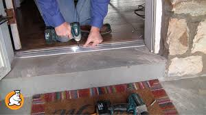 Door Threshold Types Which One Is Right For You - Exterior replacement door