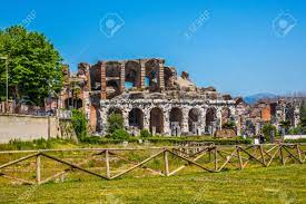 Santa Maria Capua Vetere Amphitheater In Capua City, Italy Stock Photo,  Picture And Royalty Free Image. Image 91836228.