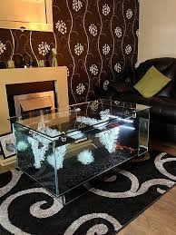 glass coffee table fish tank best of inspirational coffee table aquarium for coffee table