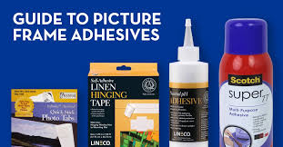 guide to adhesives in picture framing