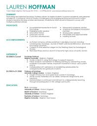 Professor Resume Examples Best Professor Resume Example LiveCareer 2