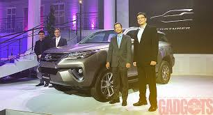 new car releases 2016 philippinesLaunched The allnew 2016 Toyota Fortuner with spec sheet