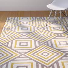 yellow and white rugs furniture