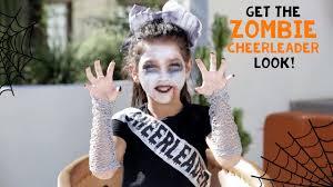 halloween zombie cheerleader look with txunamy claire s