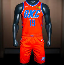 Okc New Jersey Design Oklahoma City Thunder Unveil New 2019 20 Uniform Kit