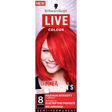 Red Hair Color Box