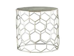 silver side tables accent table elegant round modern coffee bedside uk