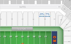 Syracuse Seating Chart Syracuse Football Carrier Dome Seating Chart Interactive