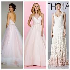 blush pink is an easy transition for the bride looking for a little color l