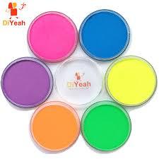 30g neon face paint color black light paint face painting maquillage makeup schmink uv