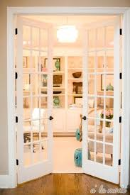 office french doors. Office Double Doors French Classic White Looks Clean And Chic Leading .