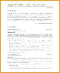 Creative Director Resume Sample Creative Director Resumes Best