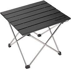 Small Folding Camping Table Portable Beach Table ... - Amazon.com