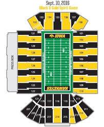 True To Life Kinnick Stadium Seating Chart Rows Seating