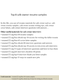business owner resume sample leave forms templateprofessional business owner resume sample topcafeownerresumesamples lva app thumbnail