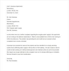 Complaint Letter To Landlord Template Complaint Letter Landlord Letterform231118 Com