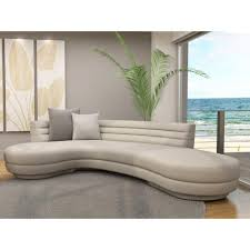 modern curved sofa — modern home interiors  elegant curved sofa