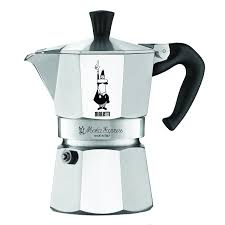Amazon.com: The Original Bialetti Moka Express Made in Italy 3-Cup Stovetop  Espresso Maker with Patented Valve: Stovetop Espresso Pots: Kitchen & Dining