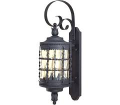 chic large outdoor light fixtures minka lavery lights best wrought iron lighting