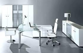 Modern glass office desk Small Glass Glass Home Office Desk Popular Of White Glass Office Desk And Glass Office Desk White And Glass Home Office Desk Bimtiksmansagainfo Glass Home Office Desk Home Office Desks Contemporary Clear Glass