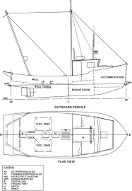 similiar fishing trawler diagram keywords this figure gives the outline arrangement of the vessel showing the