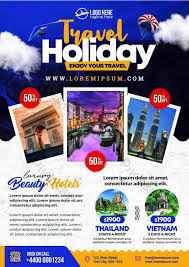 Tour Travel Flyer Psd Template Template Psd Free Download