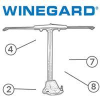 winegard sensar amplified antenna complete kit caravan tv spare parts diagram winegard sensar rv tv antenna
