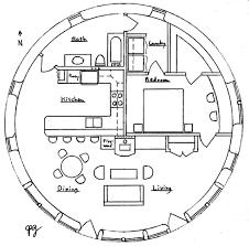 maisons plan de maison ronde 1
