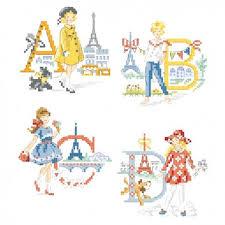 Alphabet Chart Australia The Parisian Girls Alphabet Chart Les Brodeuses Parisiennes