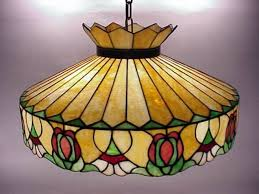 image of antique stained glass chandelier ideas
