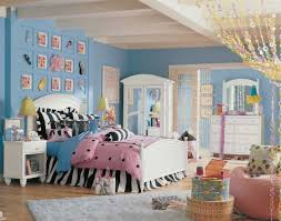 Pink And Blue Bedroom Bedroom Wood Glass Armoire Cream Ceiling Blue Wall Ornament White