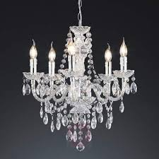 effective perdita chandelier transpa