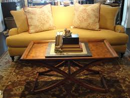 brilliant brown polished oak coffee table decor creative accent ideas furniture inspiration elegant yellow living room anthropologie style furniture